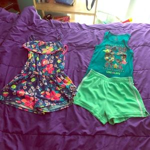 Other - Romper and short set